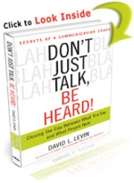 Don't Just Talk Be Heard